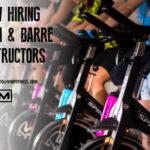 hiring spin barre