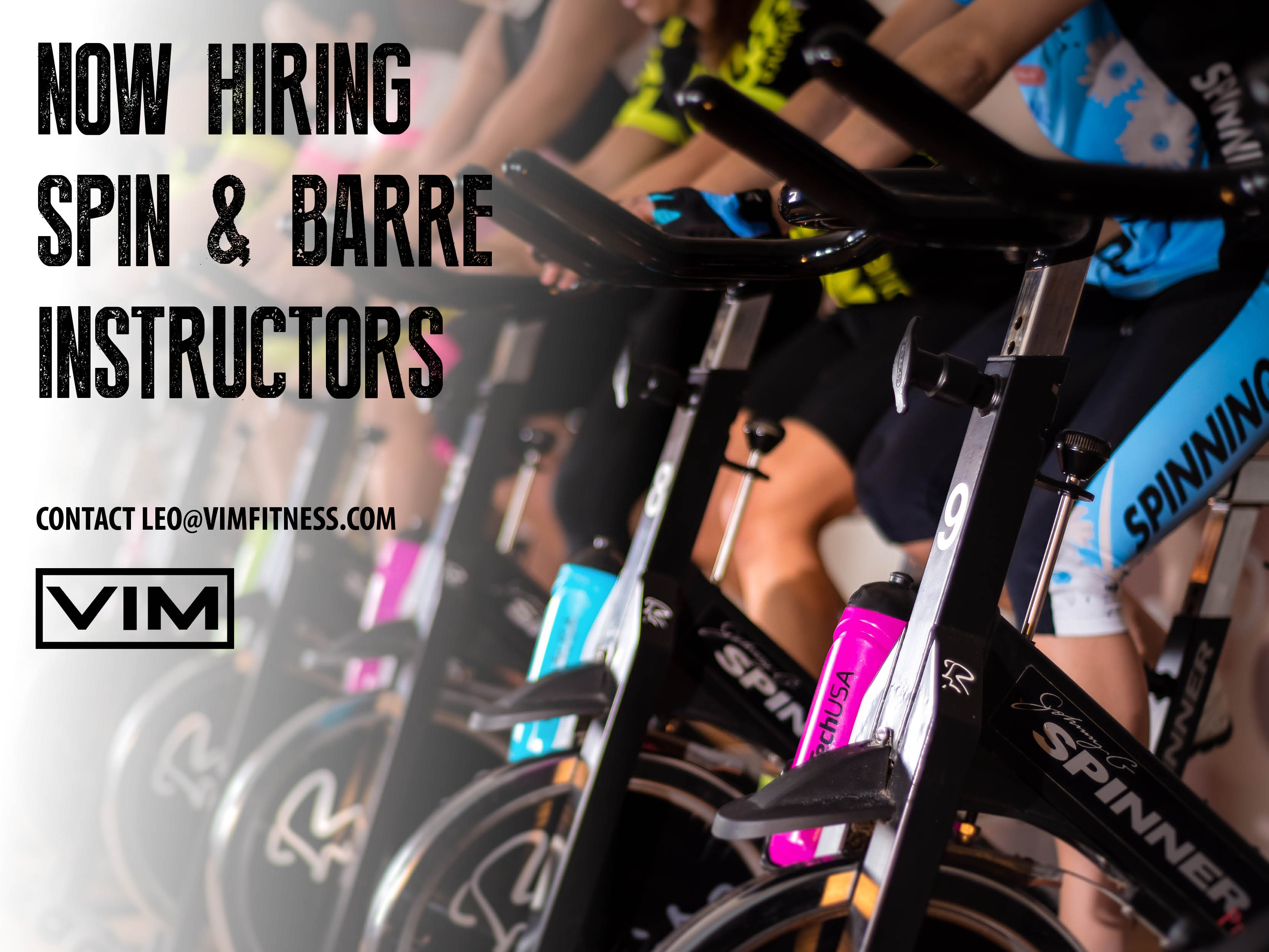 hiring spin barre