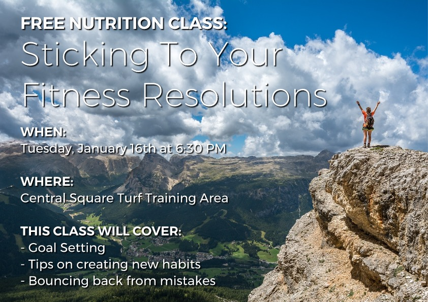 free nutrition class