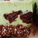 green recipes mint chip cheesecake