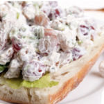 back to school recipes - chicken salad