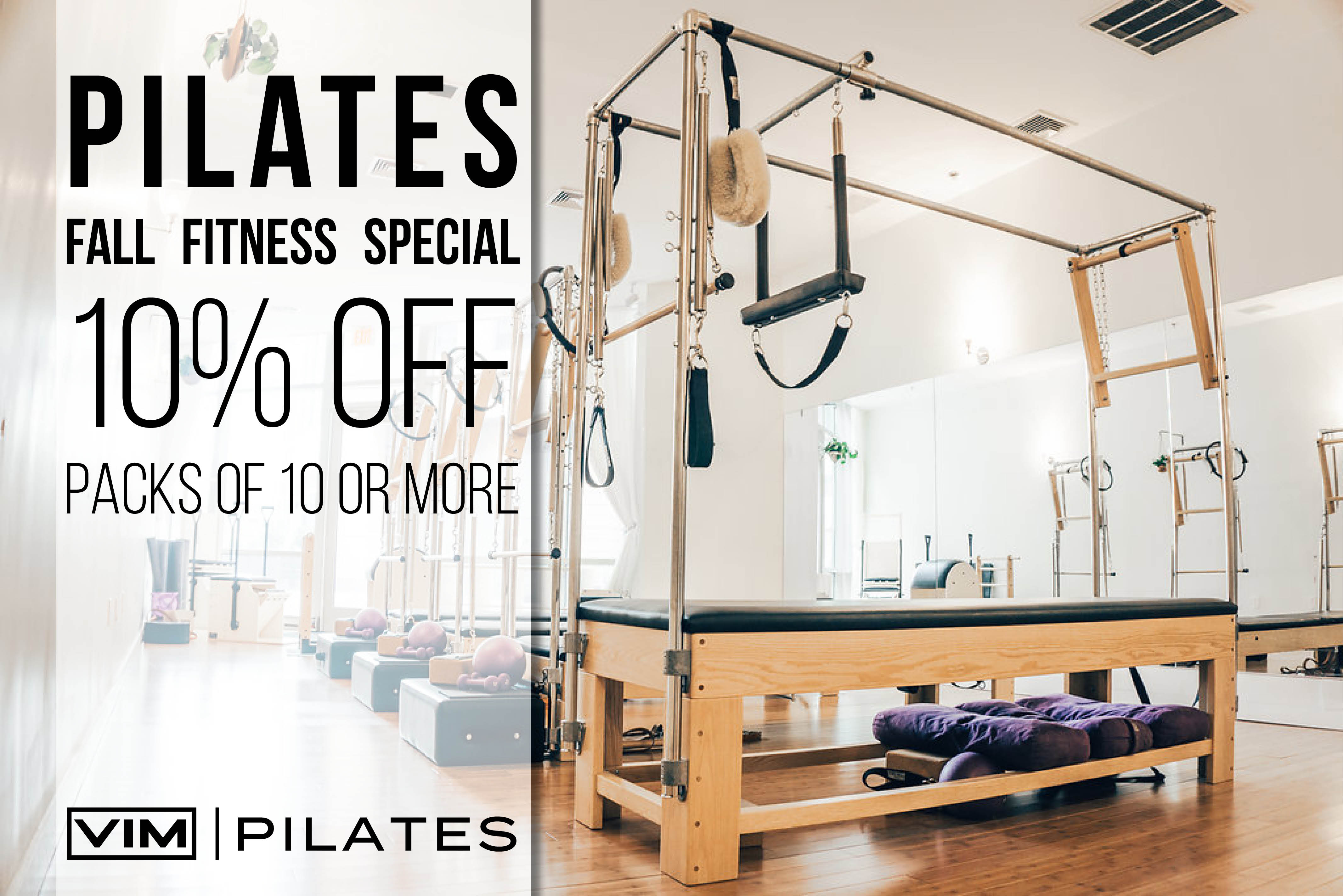Pilates Fall Fitness Special
