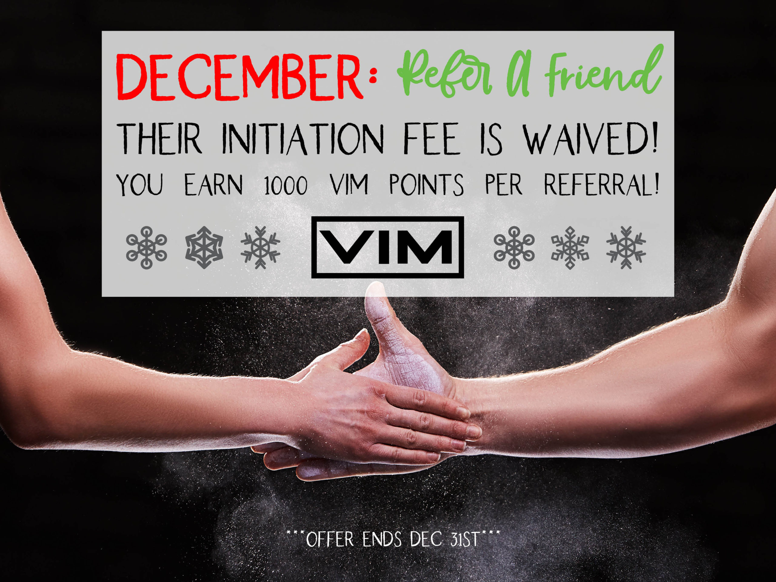 December refer a friend