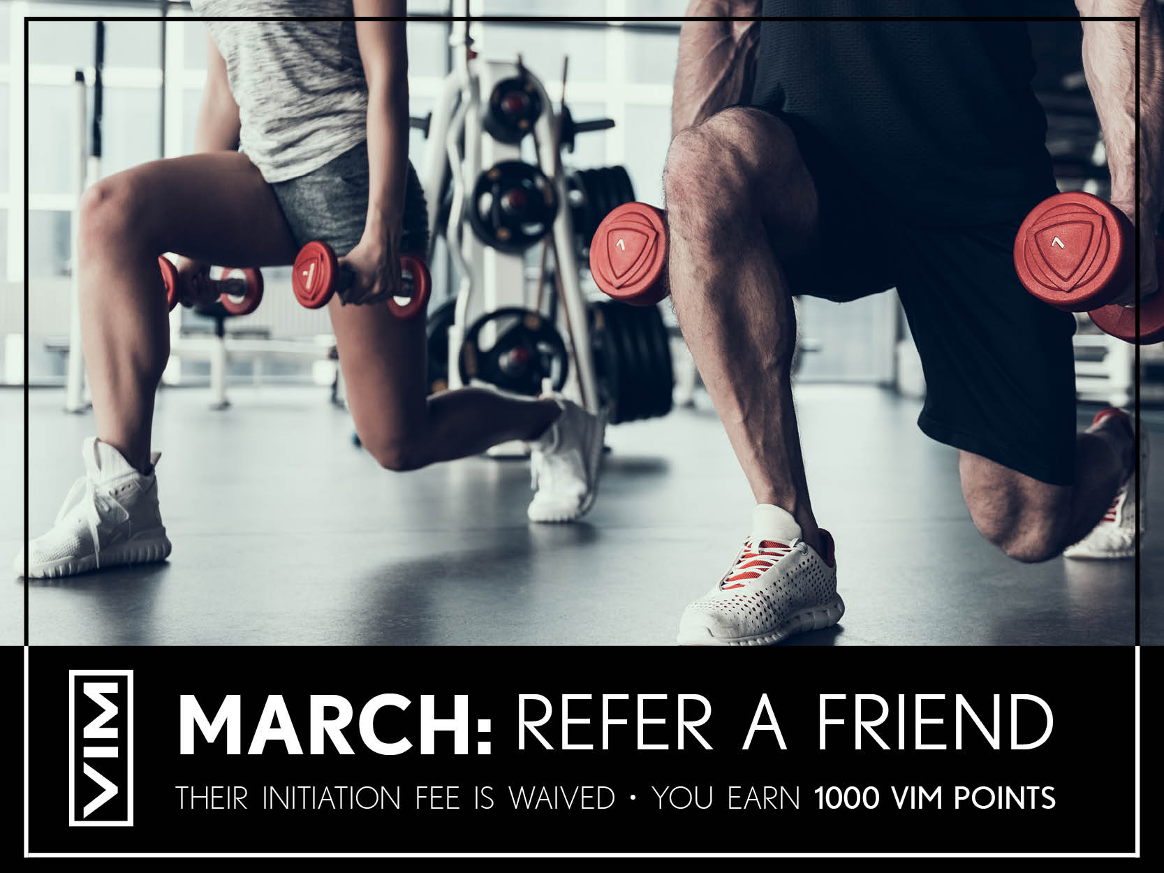 march refer a friend