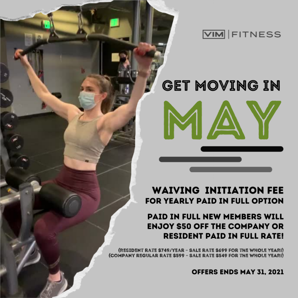 Get Moving in May
