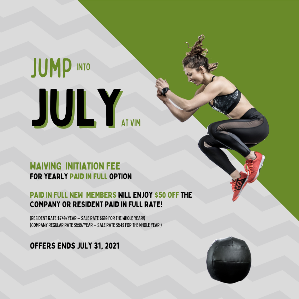 jump into july