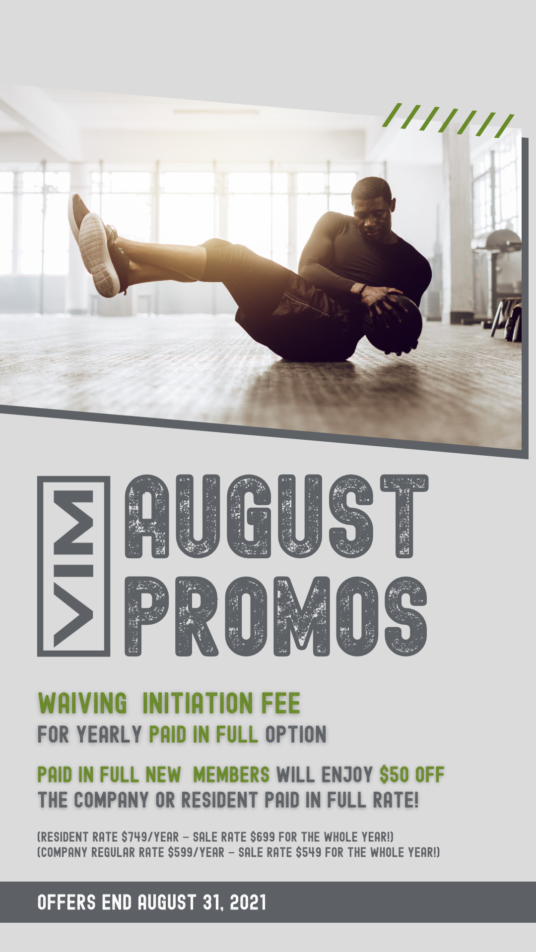 August promos
