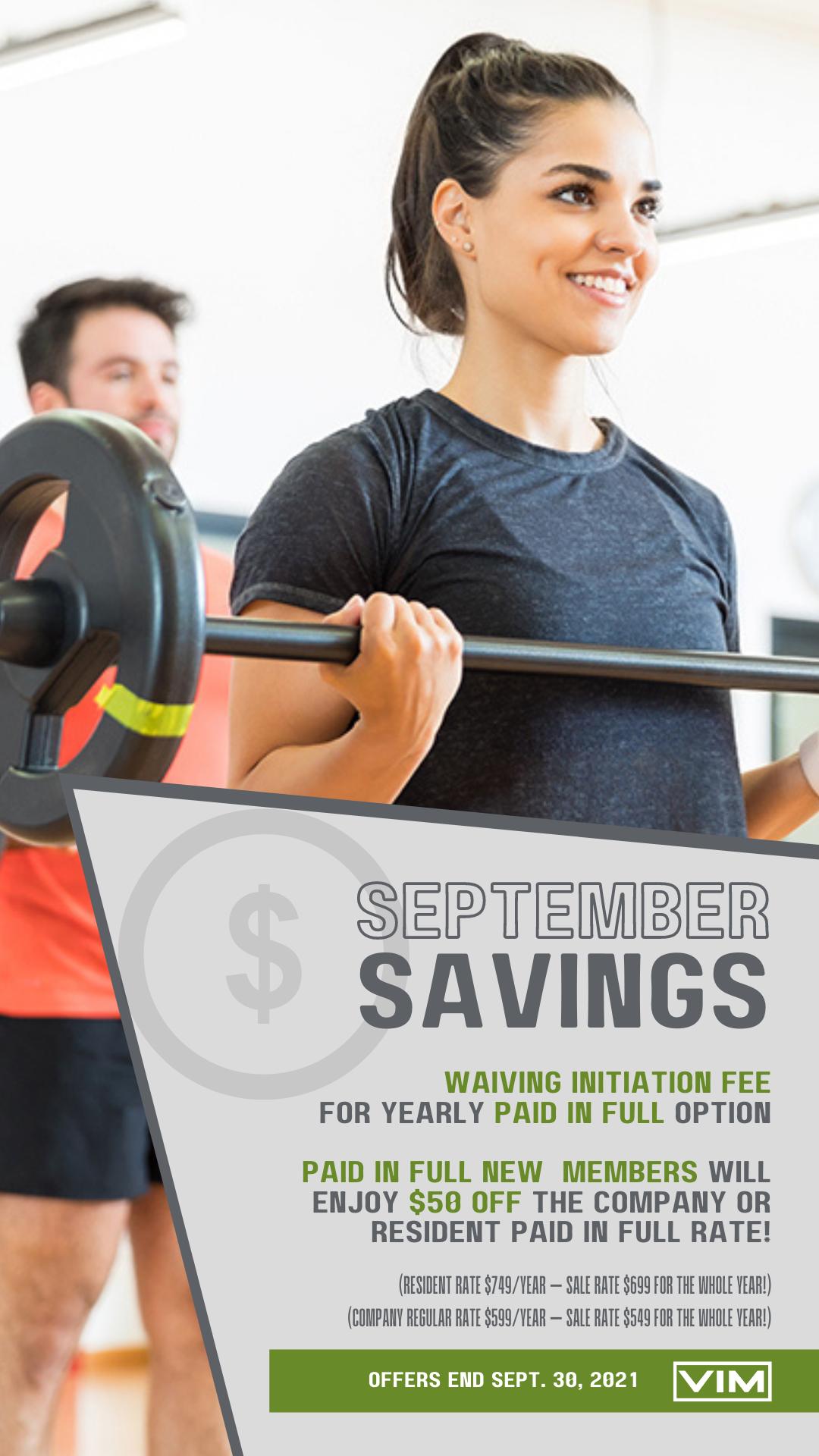 September Savings